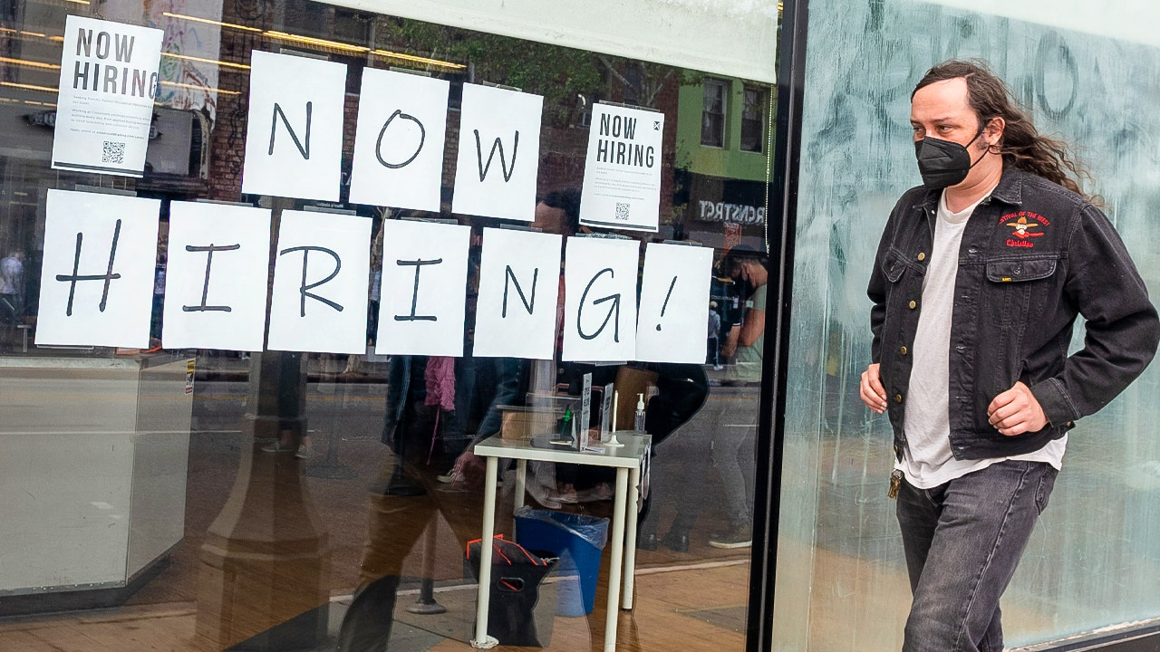 Holiday hiring surges as the nation continues to battle a labor shortage