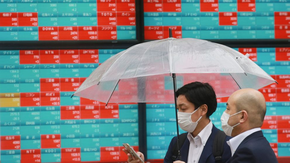 Asian shares mixed after muddled day of trading on Wall St