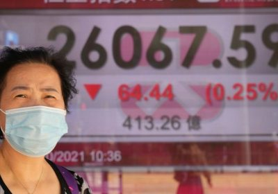Asian shares mostly higher, tracking Wall Street rally