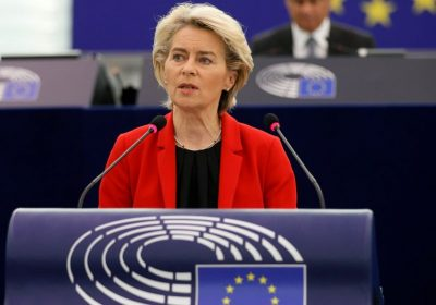 EU chief says key to energy crisis is pushing Green Deal
