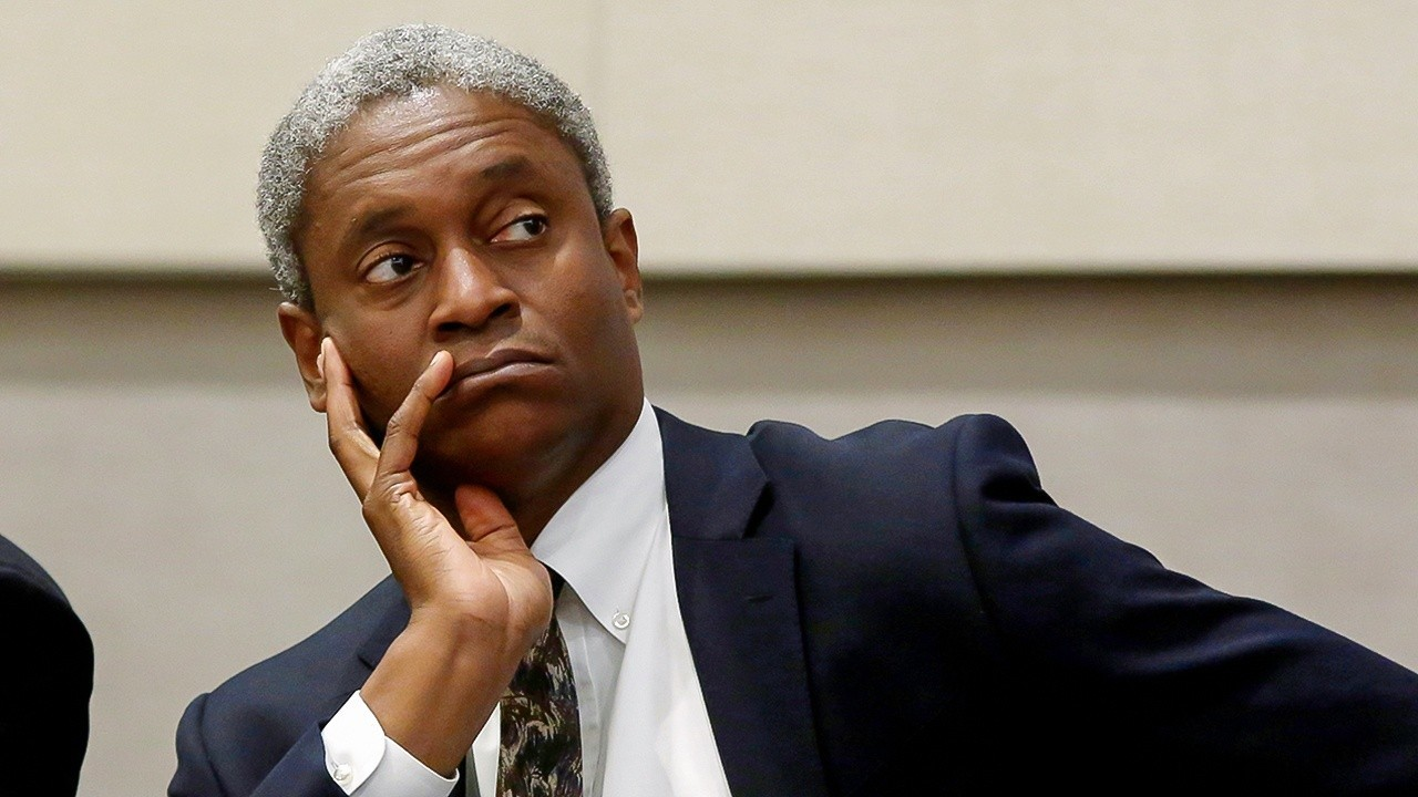 Fed's Bostic: High inflation to last a while and it's no longer transitory