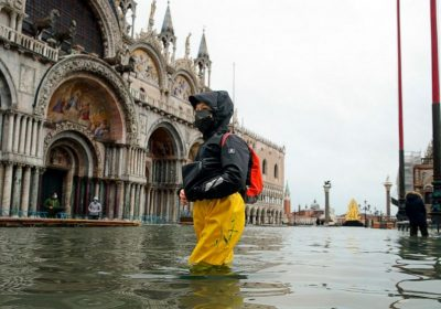 Flooding in Venice worsens off-season amid climate change