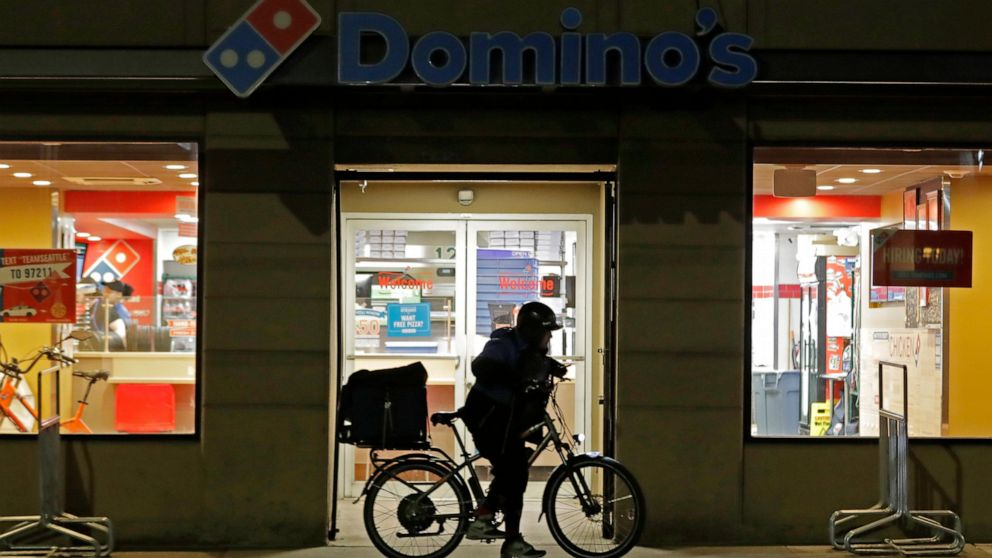 For first time in a decade, Domino's same-store sales slip