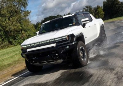 Hummer EV truck shows it can compete with its gas-powered rivals