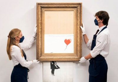 Shredded Banksy artwork could fetch millions at auction
